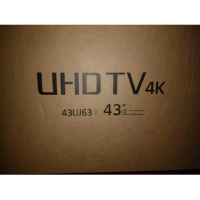 Smart Tv Lg Uhd 4k 43 Pulgadas 2017
