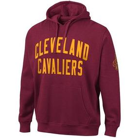 2a958eb6e Blusa Moletom Casaco De Frio Cleveland Cavaliers Vermelho