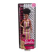 Barbie Fashionista - 135 Negra / Vitiligo / Melhor Preço