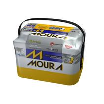 Bateria Moura 60ah A3 C3 Accord Stilo Pajero Tr4 Clio M60ad