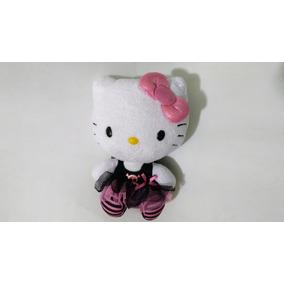 Peluche Original Hello Kitty Ballet Marca Ty 16 Cm De 2014