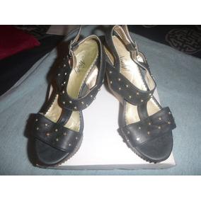 Zapatos Sandalias Plataforma Como Nuevos Liquido Navidad