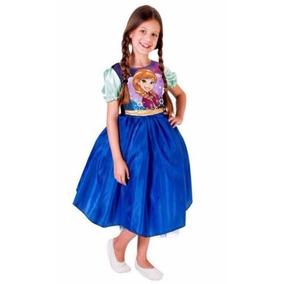 Fantasia Infantil Frozen Princesa Anna Rubies Standard 1100p