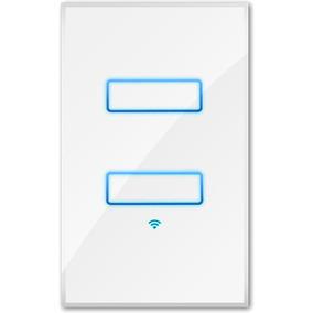 Apagador De 2 Luces Wifi Sistema Automatizacion Lanbon