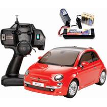 Tamiya Fiat 500 1/10 Rtr Radiocontrol Elect. M03m Con Todo !