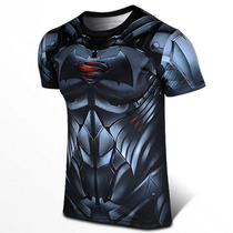 Playera Batman Vs Superman Dawn Of Justice Tarda 4-5 Semanas