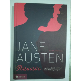 Livro Persuasão Edição Definitiva Comentada Jane Austen Li
