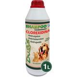 Shampoo Clorexidina 1 Litro Dermatólogico World Vet
