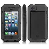 Funda Protector Extremo Iphone 5/5 Plus Super Uso Rudo Negro