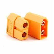 1 Par Conector Xt60 Frete 9,00 Gratis Termo Retratil
