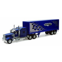 1:32 Tracto Camion Trailer Kenworth W900 Caja Seca A Escala