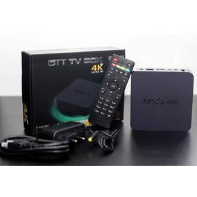 Aparelho Transformar Tv Em Smartv Tv Box Mx 4k Android 044