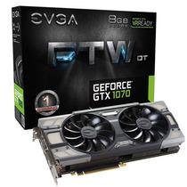 Placa Vga Evga Geforce Gtx 1070 8gb Acx 3.0 Ftw Dt Gaming