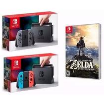 Console Nintendo Switch + Zelda, Pronta Entrega - Envio Hj
