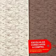 Folha De Eva Estampado Madeira 40x60cm - 5 Unidades