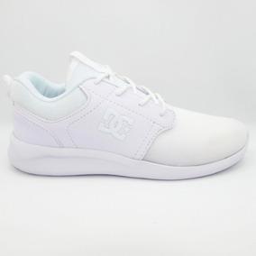 Tenis Dc Shoes Midway Sn Mx Adjs700059 Wsm White Blanco