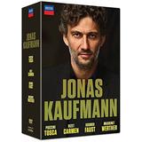 Dvd : Jonas Kaufmann: Carmen - Tosca - Faust - Werther (...