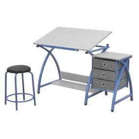 Escritorio para arquitecto mesa de dibujo con silla alta for Escritorio arquitecto