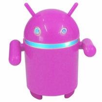 Som Mp3, Usb, Microsd Card E Rádio Fm Robo Android C/ Bateri