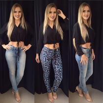 Skinny Double Jeans Gatabakana 20 % Off 12 X S/juros