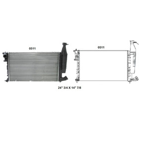 Radiador Para Peugeot Citroen Partner Box Berlingo 9801
