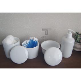 Kit Higiêne Bebê Porcelana/pote Gel/ Molhadeira