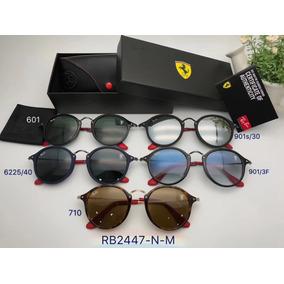 Óculos De Sol Ray Ban Round Fleck - Óculos no Mercado Livre Brasil eed49857b2