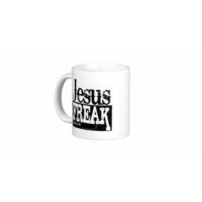 Caneca Evangelica Catolica Jesus Freak + Saco Presente