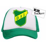 Gorras Trucker Defensa Y Justicia Futbol Escudos Logo Envios