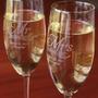 Copas X48 Champagne Vino Agua Grabado Ideal Souvenir 15 Años