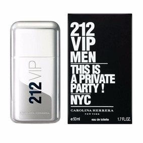 Perfume 212 Vip Men Masc Carolina Herrera Edt 50ml Original