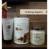 Kit Seca Barriga Hinode - Shake + Gel Massagem + Esfoliante