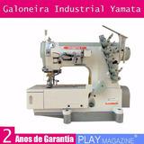 Máquina Costura Galoneira Industrial Yamata 2 Anos Garantia