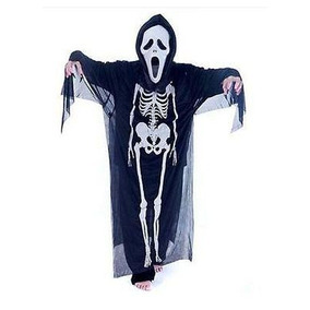 Halloween Calavera Esqueleto Fantasma Traje D - 201552915901