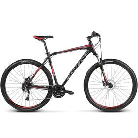 Bicicleta Kross Hexagon B5 Negro/grafito/rojo Matte