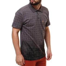 5fa4780189 Camisa Gola Polo Cinza Manga Curta - Camisas Masculinas no Mercado ...