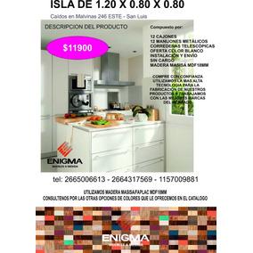 Isla Para Cocina O Vestidor Calidad Superior Mdf18mm