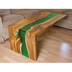 Mesas resina epoxi en mercado libre m xico - Mesas de exterior de resina ...