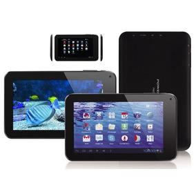 Tablet 7 Quadcore4 Gb Bluethoot Wifi 2 Cam Flash Android 4.