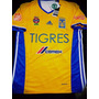 Camiseta Adidas Tigres Uanl Mexico Titular Amarilla 2017