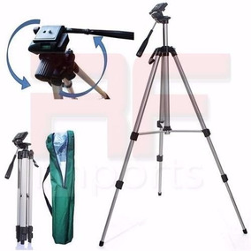 Tripé Alumínio - Binoculos - Câmeras E Filmadoras 1,30mts