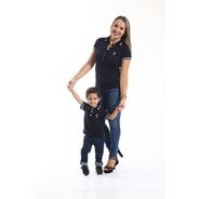 Kit Camisas Polo Tal Mãe Tal Filhos