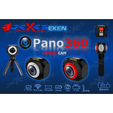 Camara Deportiva 360 Eken Pano360 4k, Tripie, Control Remoto