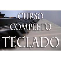 Curso Completo De Teclado Com Vídeo Aulas + Brindes
