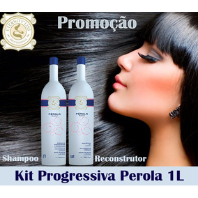 Eternity Liss Stylishine Pérola Kit Escova Progressiva