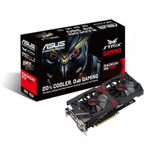 Tarjeta De Video Asus Strix-r9380-dc2oc-2gd5-gaming 2gb Ddr5