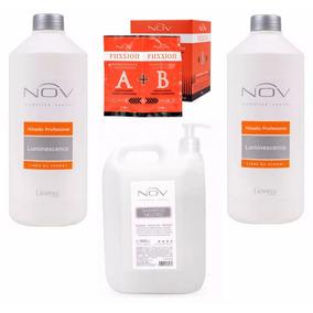 Nov 2 Alisado Sin Formol + Shampoo Neutro +36 Sobres Fussion
