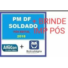 Soldado Pmdf Pós Edital 2018 + Bônus Após Qualificação.