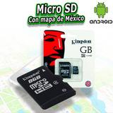 Micro Sd Con Mapa Mexico Estereos Gps Android