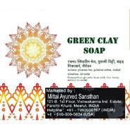 Green Clay Soap - Sabonete Artesanal Argila Verde